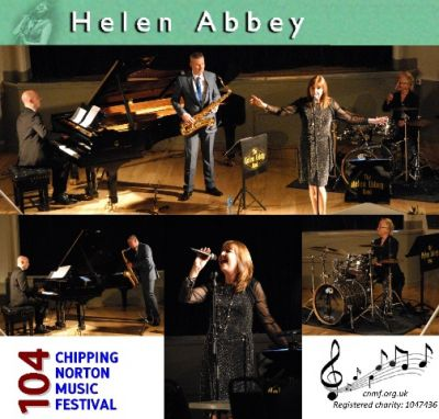 Helen Abbey, Ian Thompson (saxophone), Matthew Keane (piano), and Crissy Lee (drums) entertained us with a range of jazz classics as well as some of Helen's own songs.