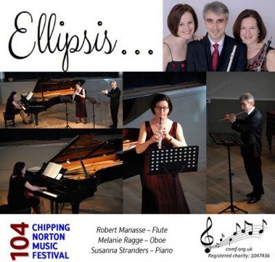 Ellipsis wind ensemble gave a varied programme of chamber music for wind intruments and solo items.